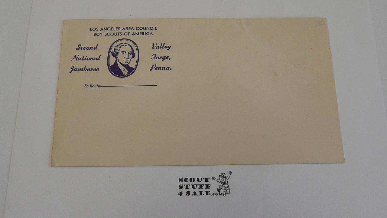 1950 Los Angeles Area Council National Jamboree Envelope