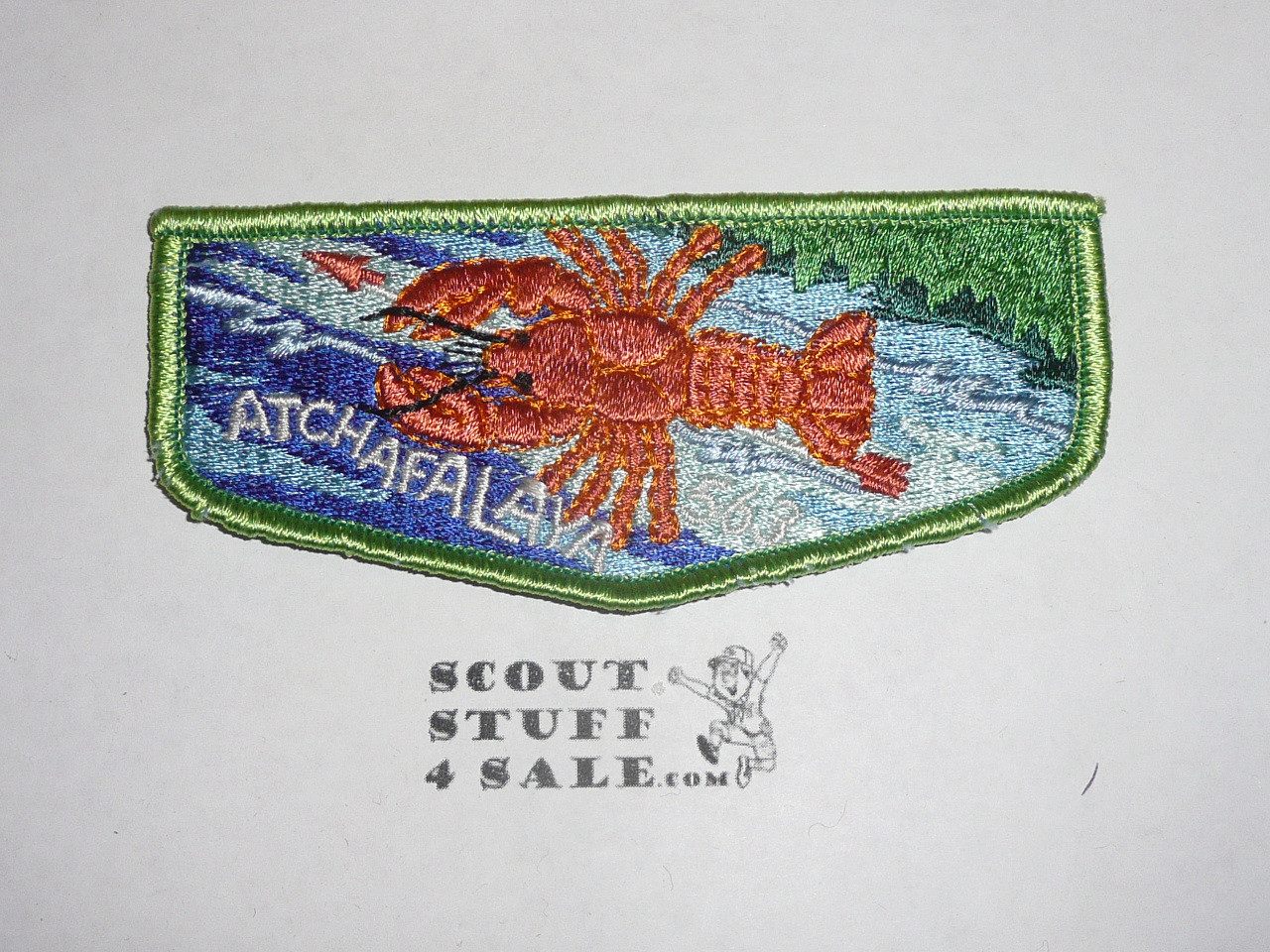 Order of the Arrow Lodge #563 Atchafalaya s7 Flap Patch