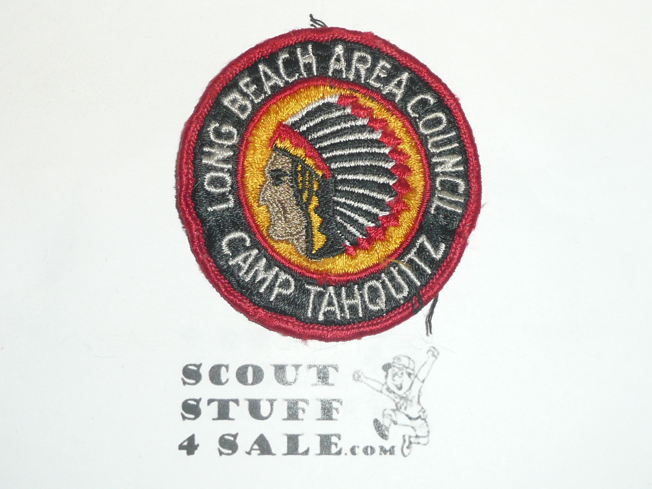 Camp Tahquitz Patch, Long Beach Area Council, sewn