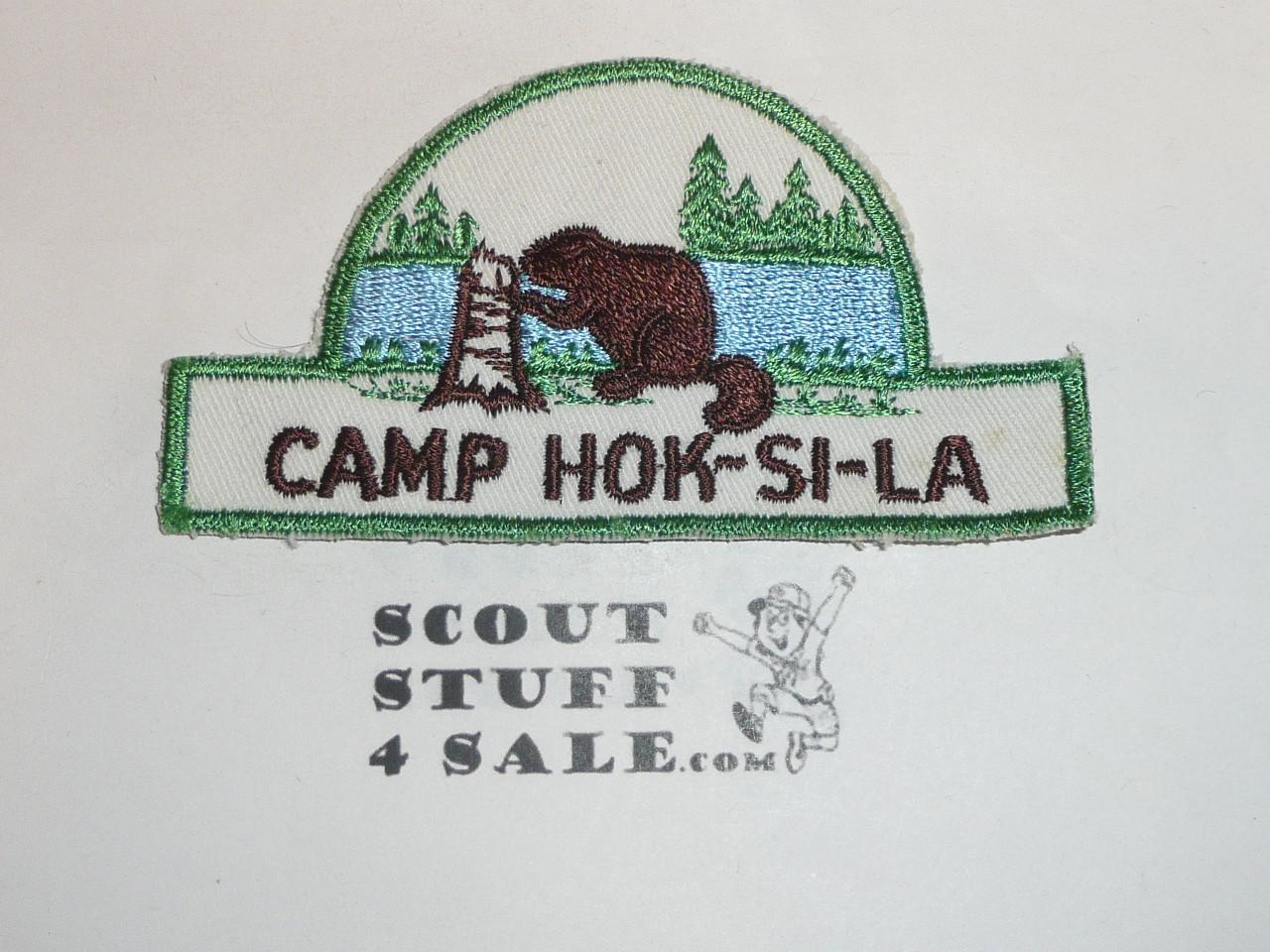 Camp Hok-Si-La, HAT Shaped Camp Patch