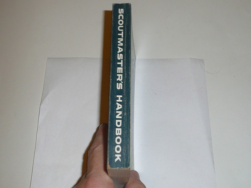 1966 Scoutmasters Handbook, Fifth Edition, Eighth Printing, MINT Condition, Norman Rockwell Cover