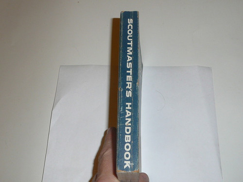 1962 Scoutmasters Handbook, Fifth Edition, Fourth Printing, Very good used Condition, Norman Rockwell Cover