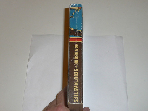 1952 Handbook For Scoutmasters, Fourth Edition, Sixth Printing, MINT Condition