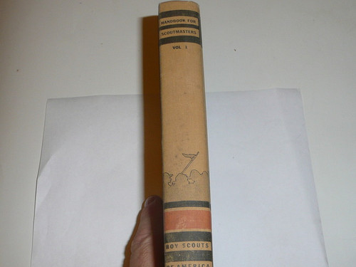 1945 Handbook For Scoutmasters, Third Edition, Volume 1, Thirteenth printing (10-45), very good Condition