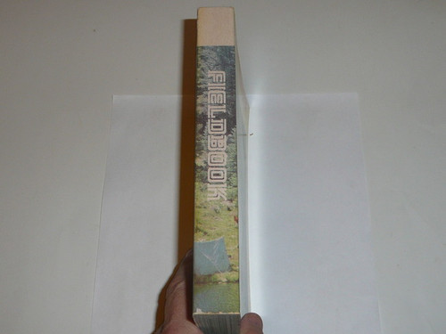 1981 Boy Scout Field Book, Second Edition, Sept 1981 Printing, near MINT condition