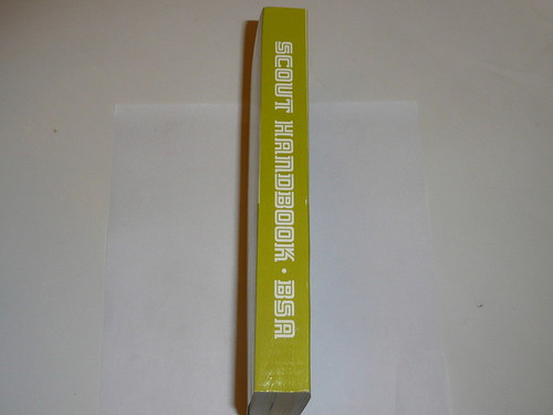 1972 Boy Scout Handbook, Eighth Edition, First Printing, MINT condition but name written on cover