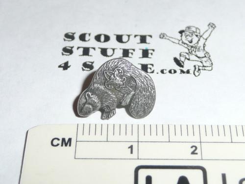 Silver Beaver Award Lapel Pin / Tie Tack, Older variety