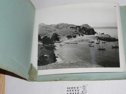 """1920's-1940's Camp Emerald Bay Photo Binder with 10 black and white 5 1/2""""x 4 1/2"""" pictures, unsure of exact year, Skip Miller Camp Director, Great images (including Staff)"""