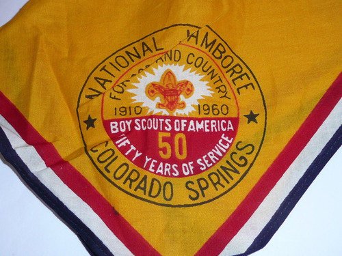 1960 National Jamboree Neckerchief, Used