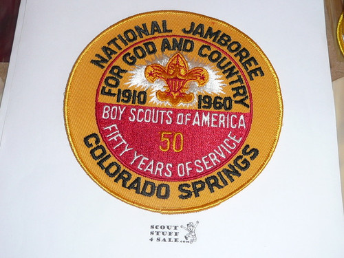 1960 National Jamboree Back / Jacket Patch