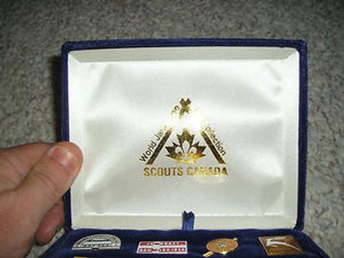 1987-1988 World Boy Scout Jamboree Commemorative Pin Set