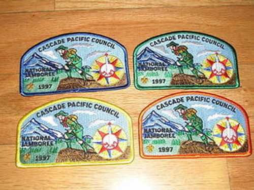 1997 National Jamboree JSP - Cascade Pacific - SET W/OA