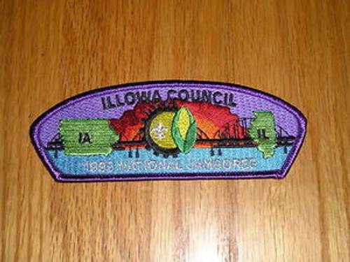 1993 National Jamboree JSP - Illowa Council - 4 Diff