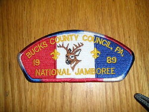 1989 National Jamboree JSP - Bucks County Cncl - 6 Diff