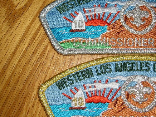 Western Los Angeles County Council sa30/sa31 COMMMISSIONER CSP 3&4