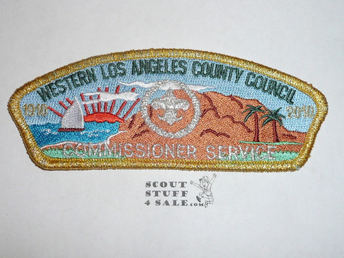 Western Los Angeles County Council sa37 COMMMISSIONER CSP #2, 2010 100th Anniv