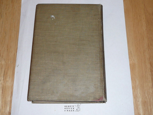 1914 Handbook For Scout Masters, First Edition, Lt wear to covers, insides MINT