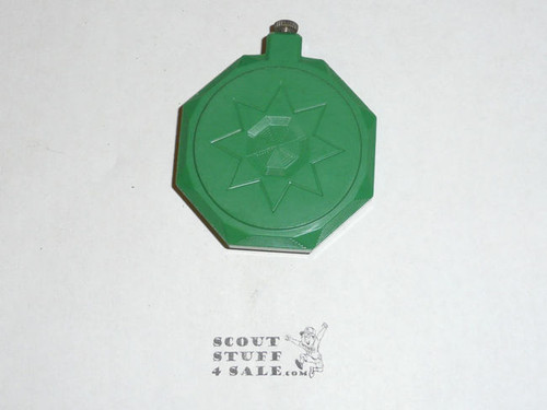 1930's Bakelite Girl Scout Compass made by Taylor - Glass and directional needle missing