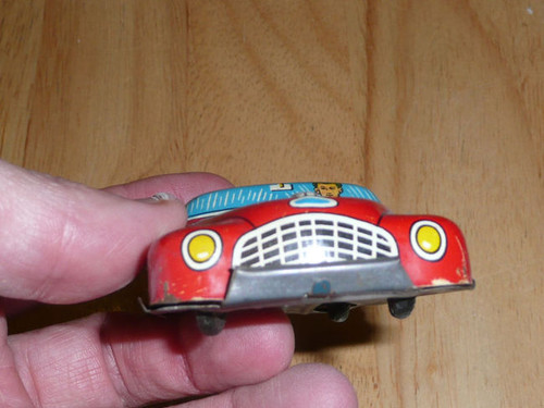 OLD Tin Toy Car Made In Japan