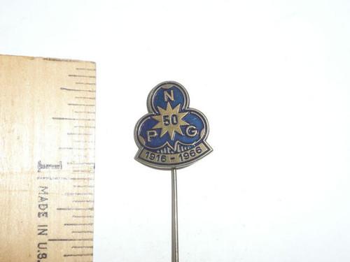 OLD Non-USA Boy Scout Stick Pin Insignia, BPC60