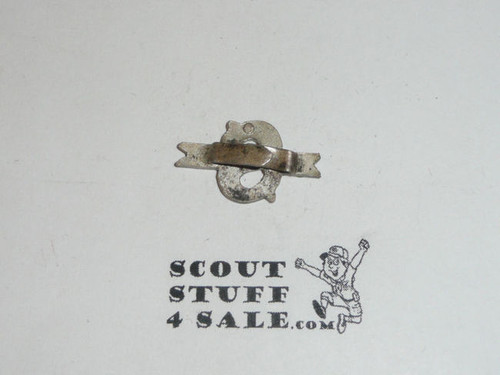 OLD Non USA boy scout pin, Collar Brass, May be British, PC14