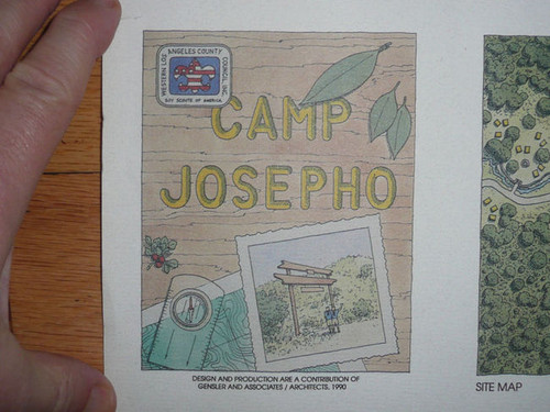 1990 Architect's Rendition for Redevelopment of Scout Camp Josepho