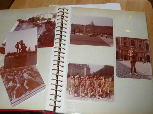 1979 Boy Scout World Jamboree Photo Album with 33 pages of pictures, PA9