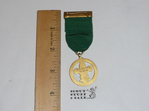 1948 Presented British Boy Scout Medal, FGPC27