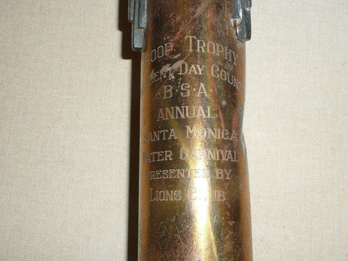 1937-1945 Crescent Bay Area Council Perpetual Troop Trophy for Water Carnival