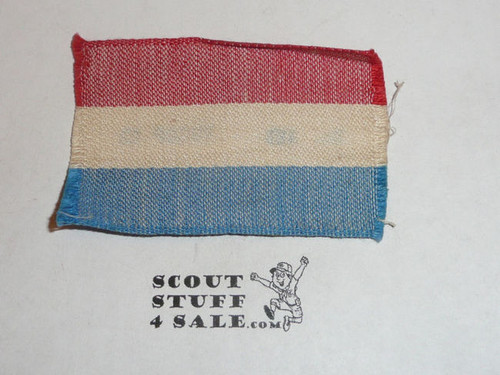 1929 World Boy Scout Jamboree Holland Contingent Patch in MINT Condition