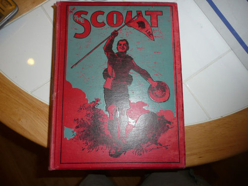 """1912-1913 Bound Volume """"The Scout"""" Magazine of the British Boy Scout Association"""
