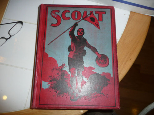 """1910-1911 Bound Volume """"The Scout"""" Magazine of the British Boy Scout Association"""
