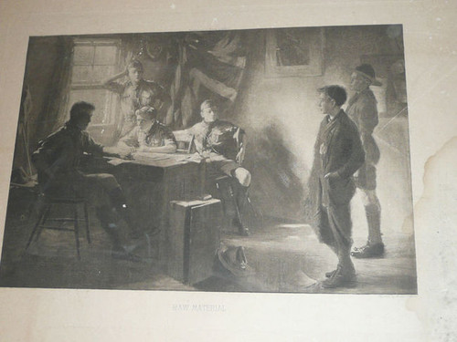 """""""Raw Material"""" British Boy Scout Print by Ernest Carlos"""