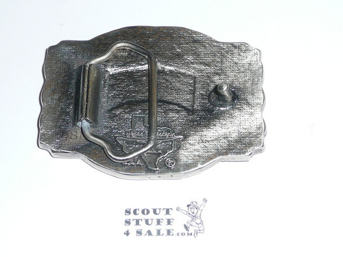 1985 National Jamboree Pewter Belt Buckle