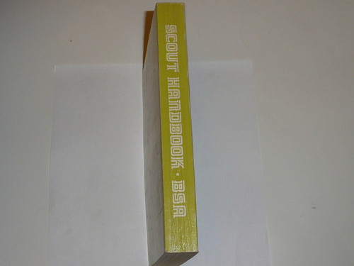 1973 Boy Scout Handbook, Eighth Edition, Second Printing, MINT condition