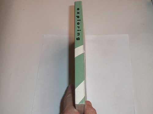 1959 Explorer Scout Manual, Second Edition, 1-1959 Printing