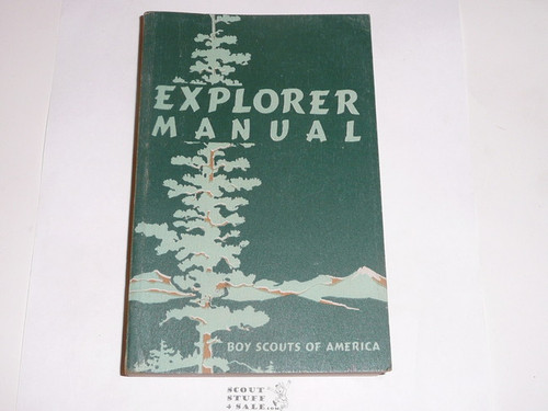 1950 Explorer Scout Manual, First Edition, 1950 Printing