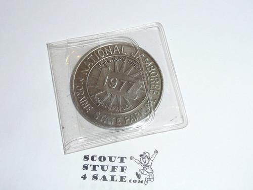 1977 National Jamboree Coin / Token, Chrome color