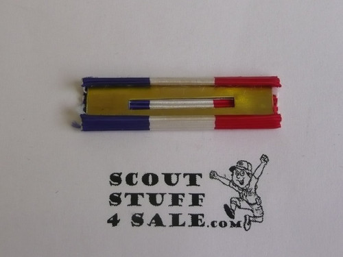 Eagle Scout Ribbon Bar, for use on Military Academy Uniforms or BSA uniform, 1960's #2