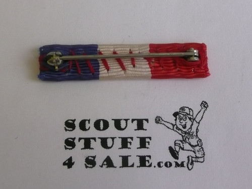 Eagle Scout Ribbon Bar, for use on Military Academy Uniforms or BSA uniform, 1920's-1940's
