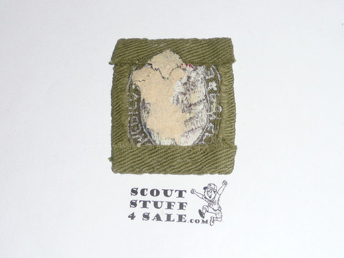 Eagle Scout Patch, Type 2, 1933-1955, Sewn