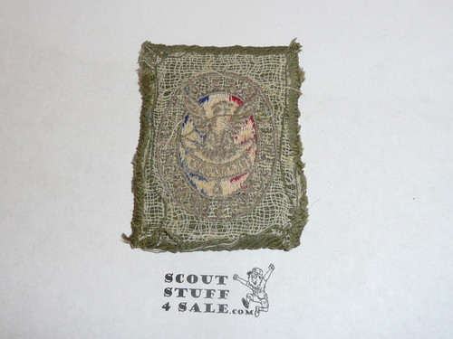 Eagle Scout Patch, Type 2, 1933-1955, Lt. Use #2