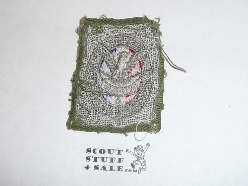 Eagle Scout Patch, Type 2, 1933-1955, Lt. Use