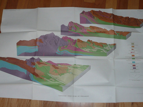 1964 United States Geological Survey of Philmont Country OFFICIAL REPORT, 152 pages with six color maps.