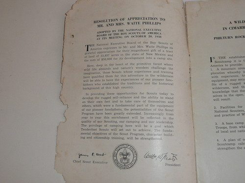 1940 PHILTURN Promotional Booklet, 22 pages, some wear and a mouse may have nibbled some edges