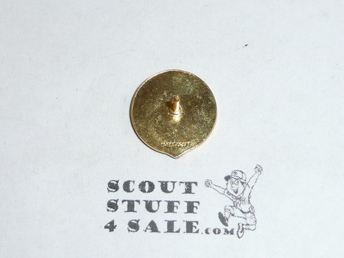 30 Year Veteran Pin, 1970's, Crest Craft, Post back
