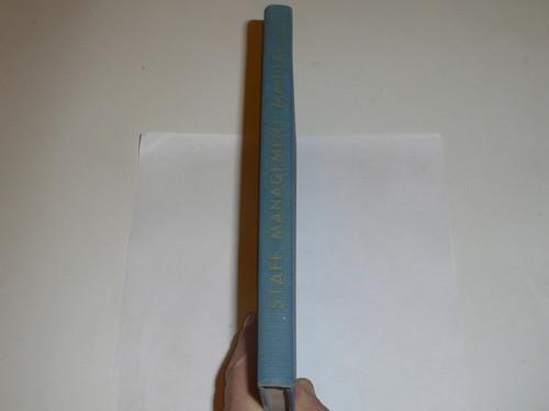 1941 Staff Management Manual, First Printing (3-41)