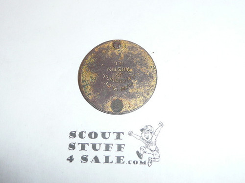"""Very Old Boy Scout Token, Says """"Scout Loyal American Life"""""""