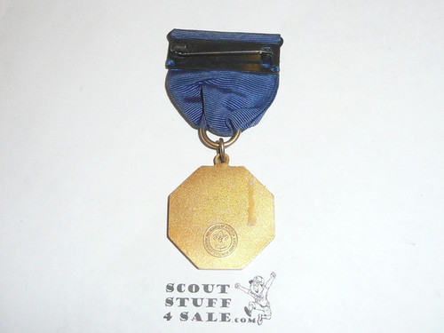 1940's Gold Boy Scout Generic Contest Medal