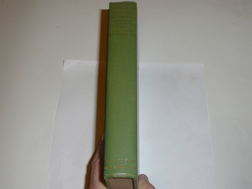 1939 Seventh National Training Conference of Scout Executives Hardbound Book